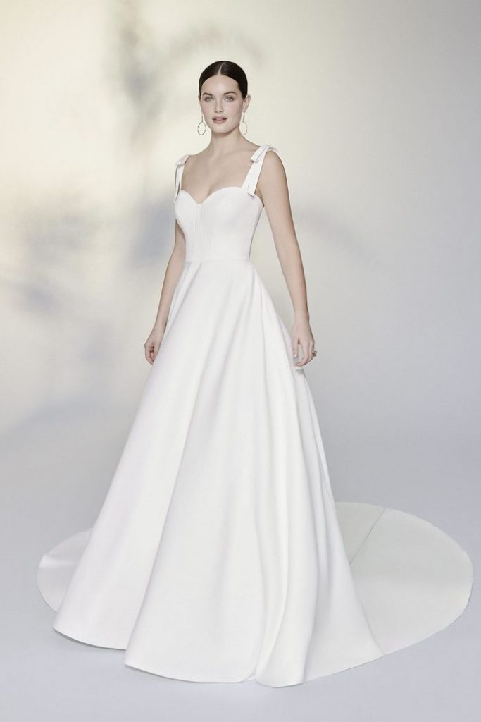 Justin Alexander Bridal Signature Luxe Satin Ball Gown