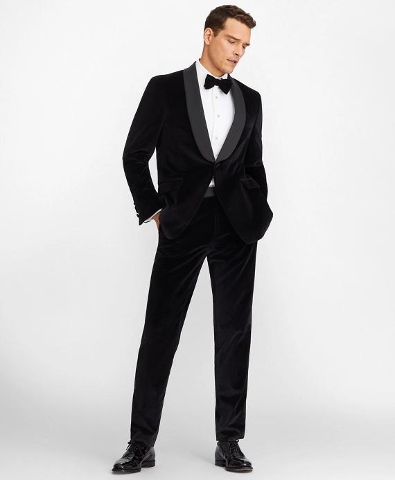 Regent Fit Shawl Collar Velvet Tuxedo
