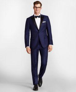 Regent Fit One-Button Navy Tuxedo