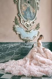 Oceans of Ruffles Monique Lhuillier Bridal Secret Garden Fall 2020 Collection