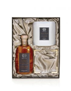 Sandalwood Amber Fragrance Candle and Diffuser Set by Antica & Farmacista