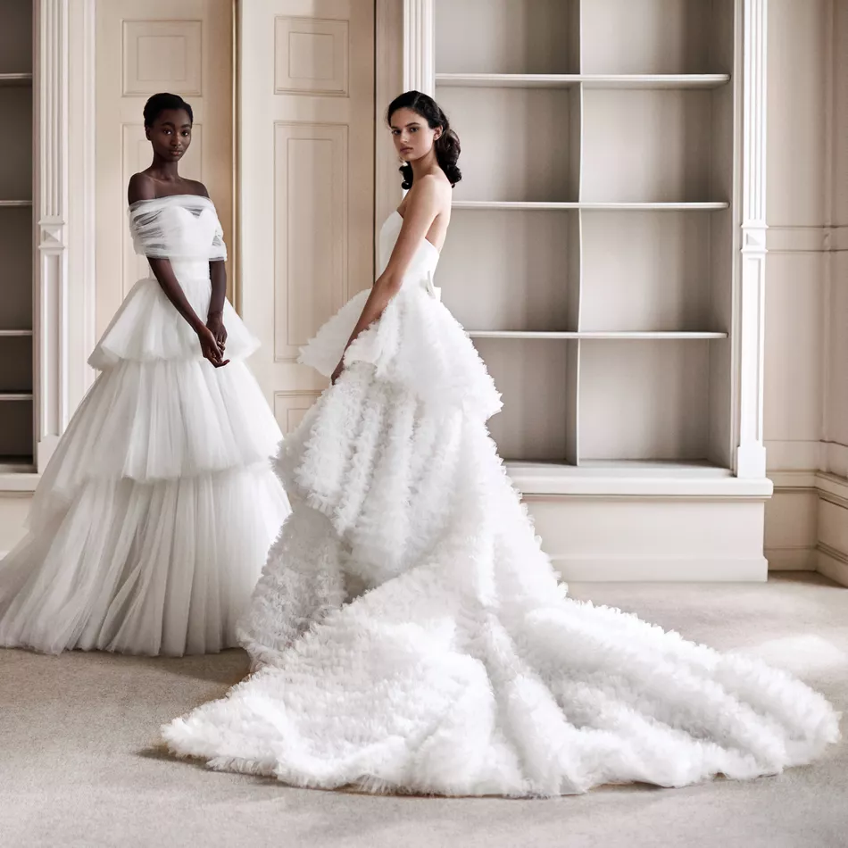 Tiered Viktor & Rolf Bridal Collection 2021