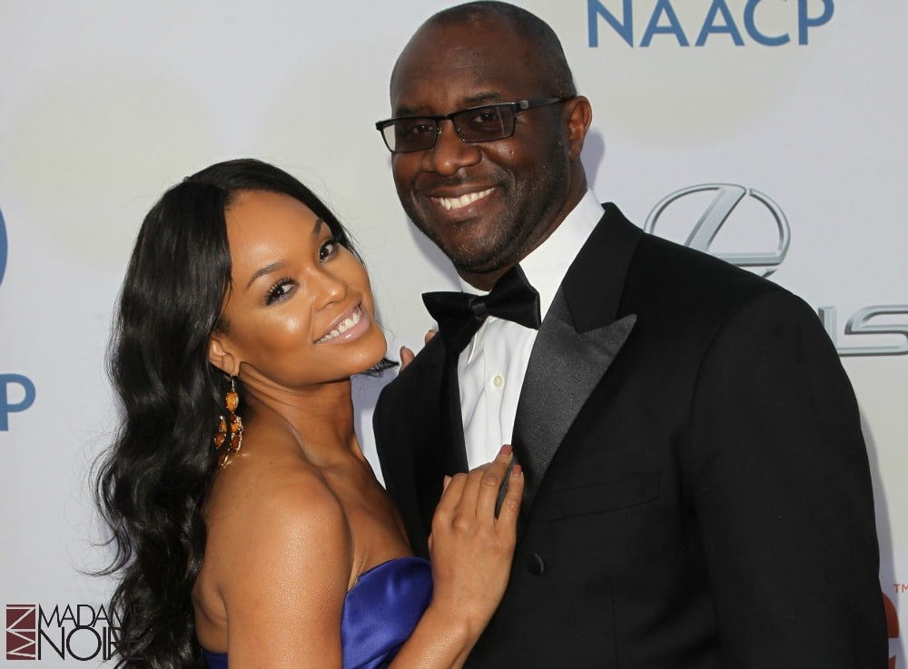 The 46th NAACP Image Awards presented by TV One at the Pasadena Civic Center - Arrivals Featuring: Demetria McKinney, Roger Bobb Where: Pasadena, California, United States When: 06 Feb 2015 Credit: FayesVision/WENN.com