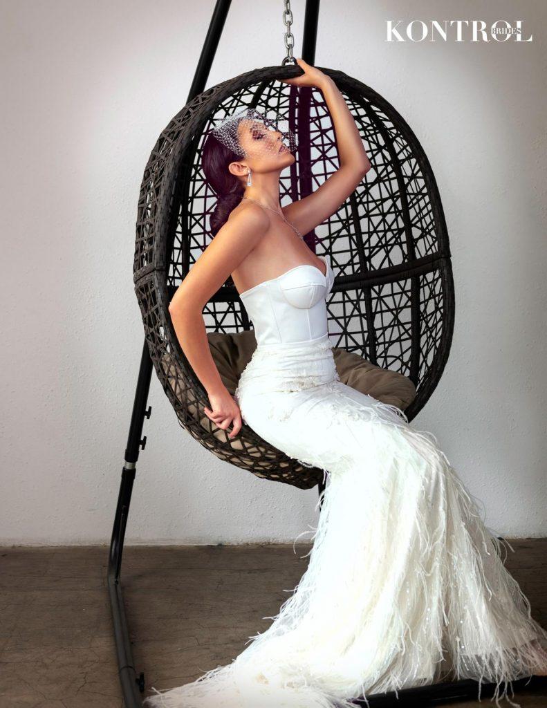Kontrol Brides Noir Et Blanc Style Shoot